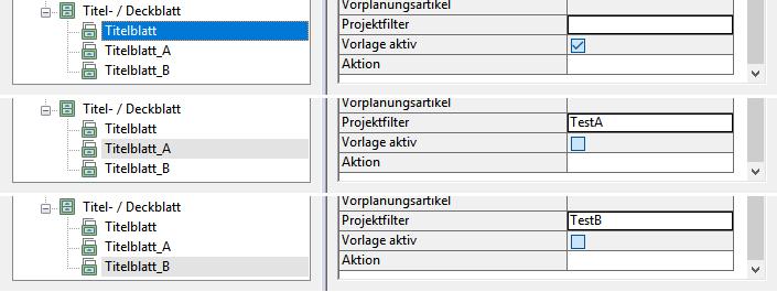 """Aktive Vorlagen wenn der Wert für den Dokumentenstatus """"Leer"""" ist."""