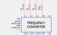 Absicherung eines Frequenzumrichters - Leitungsbemessung.